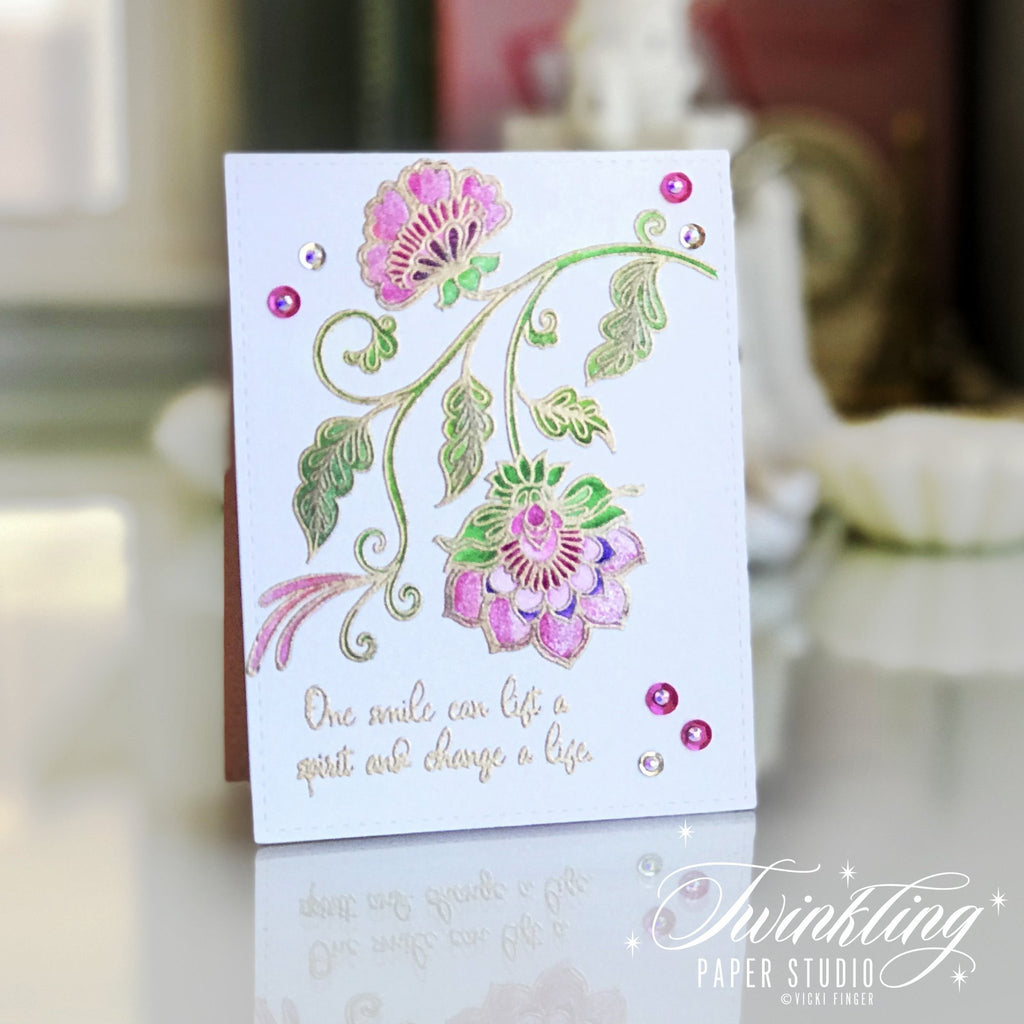 Needlework Motif Stamp Set
