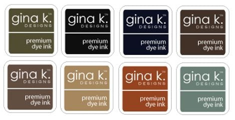 Neutral Ink Cube Assortment - Gina K