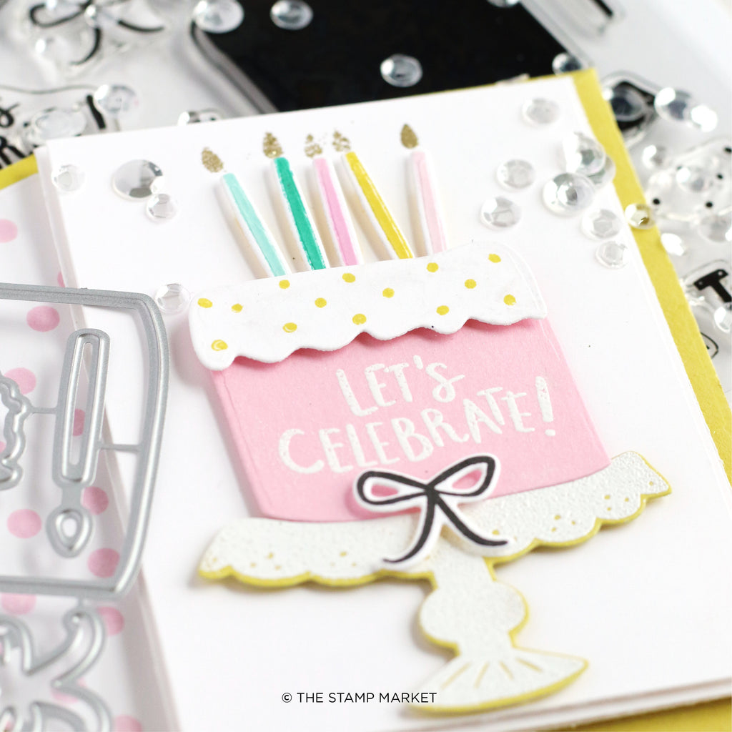 Party Pieces Clear Stamp Set