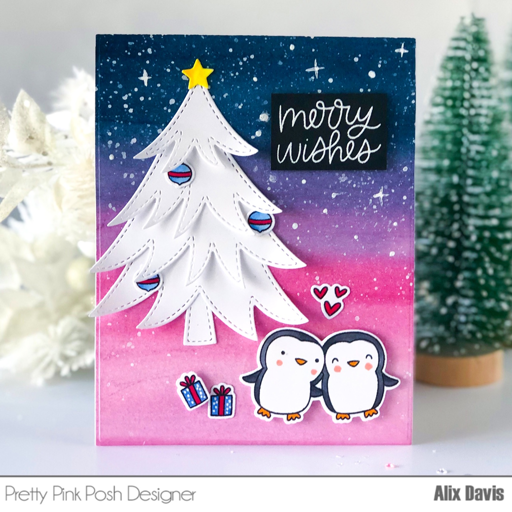 Penguin Pals Clear Stamps