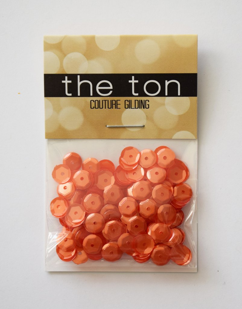 The Ton Smoked Citrine Sequins - Mixed Sizes