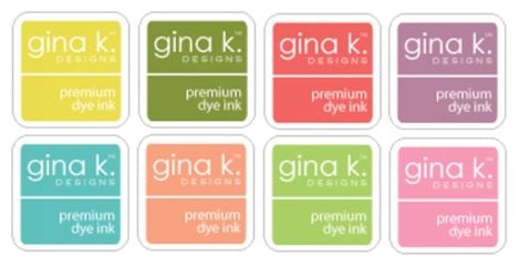 Spring Ink Cube Assortment - Gina K