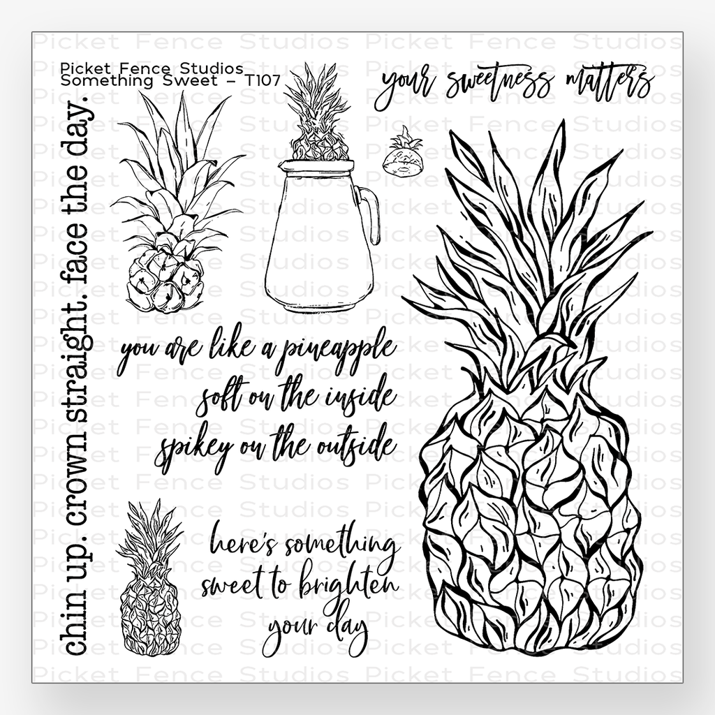 "6""x6"" Something Sweet Stamp Set"