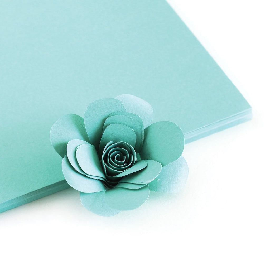 Tropic Teal Color Crush Cardstock - The Stamp Market