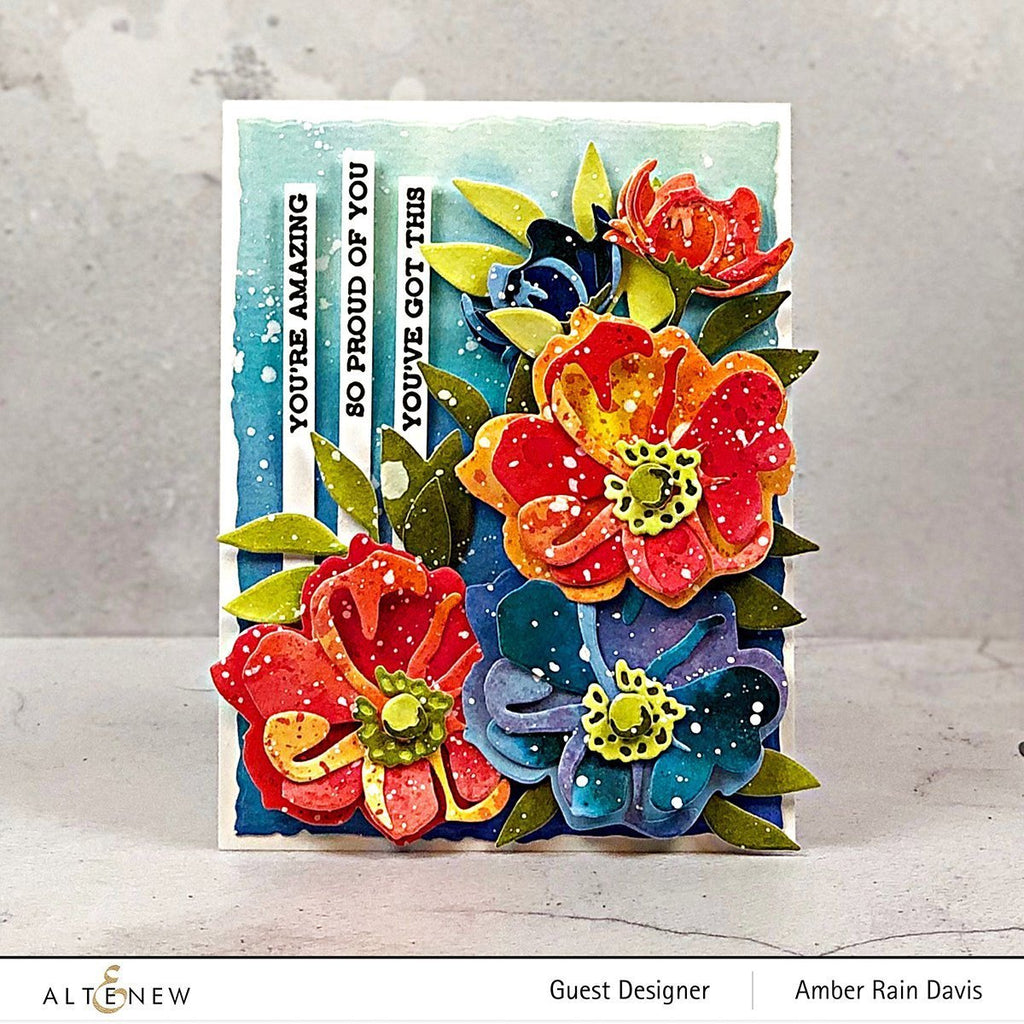 Virginia Rose 3D Die Set