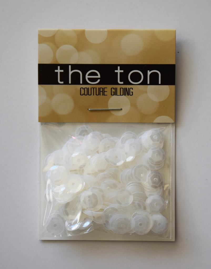 The Ton Wedding Dress Sequins - 6mm