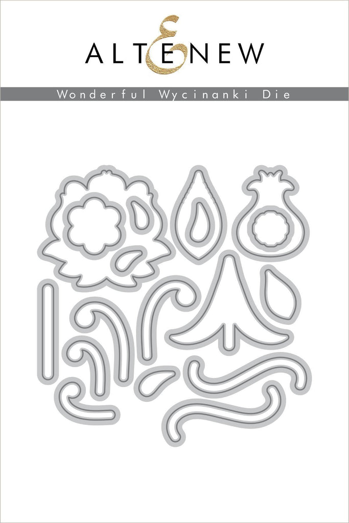 Wonderful Wycinanki Die Set