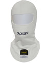 The Racer - Nomex racing balaclava in White - HRX