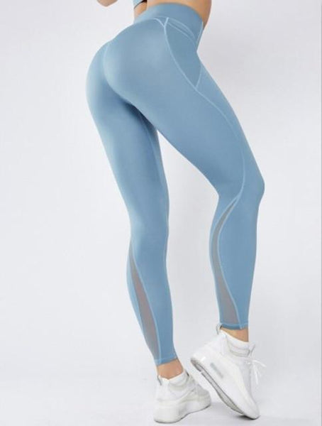 Wave Style Leggings - GYMKNOCK