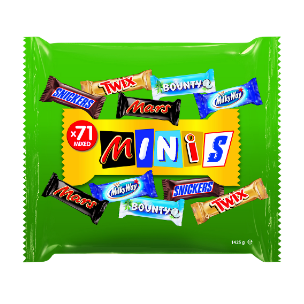 Mars Mixed Minis – 1130g Packung