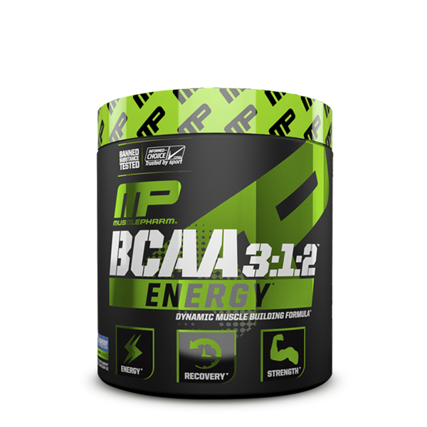 MusclePharm BCAA 3:1:2 Energy Sport 276g