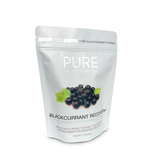 Pure Sports Nutrition Blackcurrant Recovery 200g - LiveFit.Asia