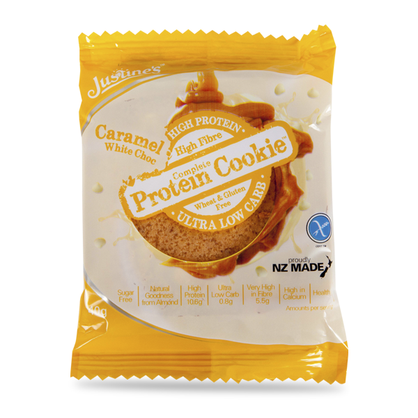 Justine's Complete Protein Cookie 40g (Box of 12) - LiveFit.Asia
