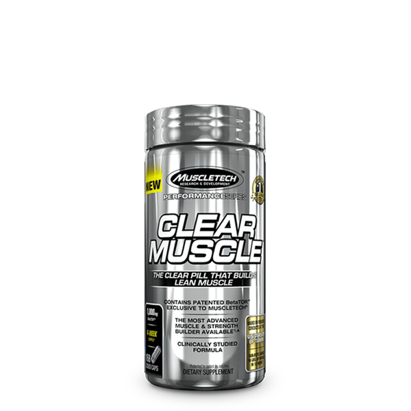 MuscleTech Clear Muscle (168 Caps) - LiveFit.Asia