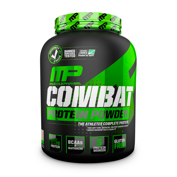 MusclePharm Combat Protein Powder 4Lbs