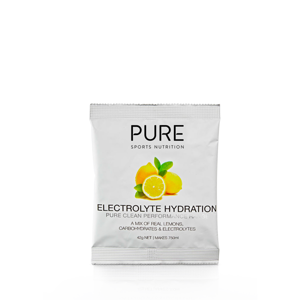 Pure Sports Nutrition Electrolyte Hydration Sachets 42g (Box of 25)
