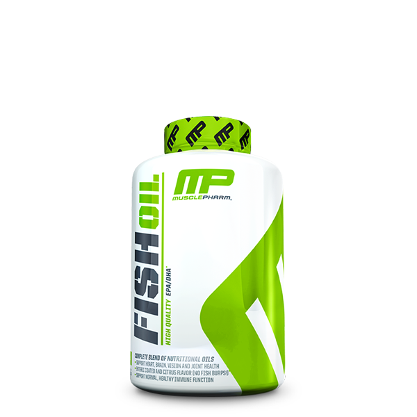 MusclePharm Fish Oil (90 Softgels) - LiveFit.Asia