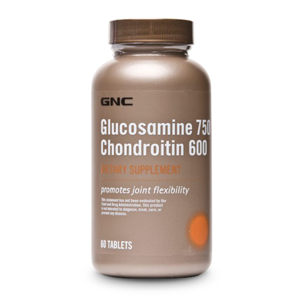 GNC Glucosamine 750 Chondroitin 600 (60 Tabs) - LiveFit.Asia