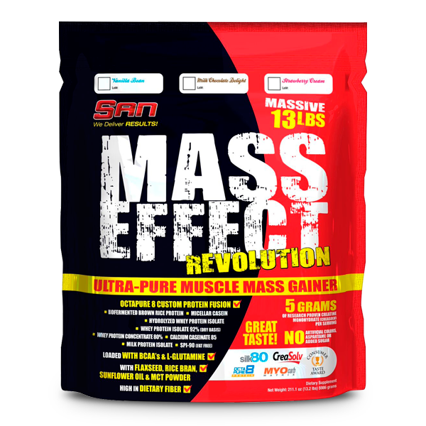 SAN Nutrition Mass Effect Revolution 13.2Lbs