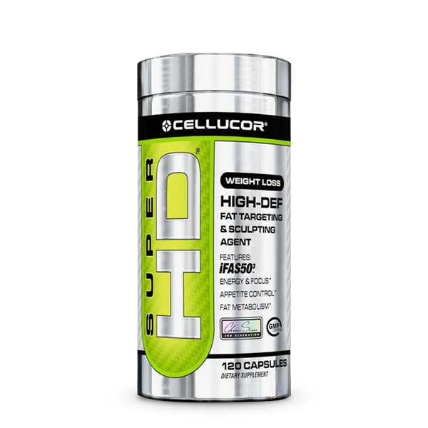 Cellucor® Super HD (120 Caps) - LiveFit.Asia
