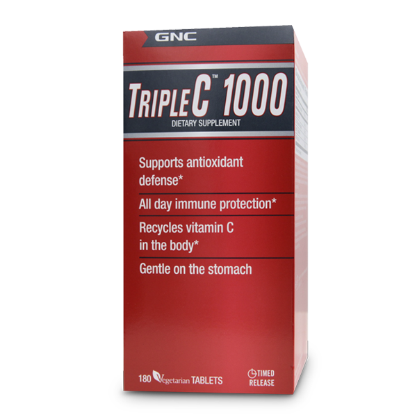 GNC Triple C™ 1000 (180 Vegitabs)