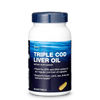 GNC Triple Cod Liver Oil (90 Softgels) - LiveFit.Asia