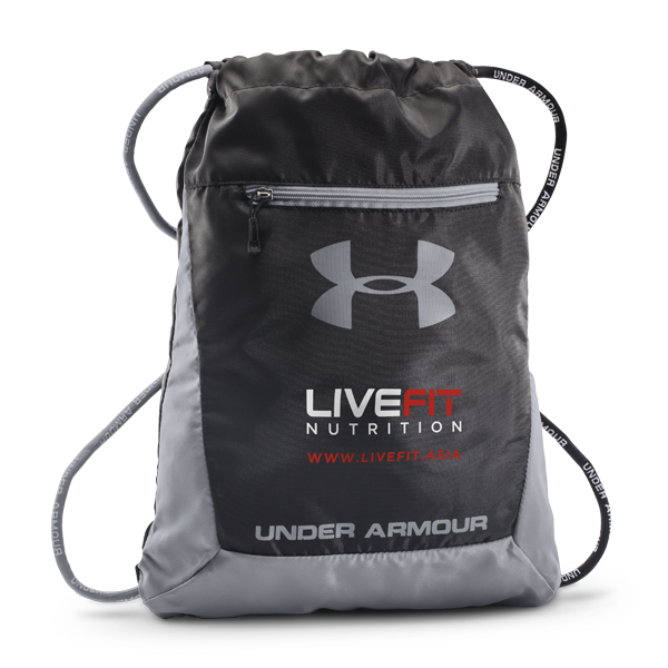 Under Armour Hustle Sackpack - LiveFit.Asia