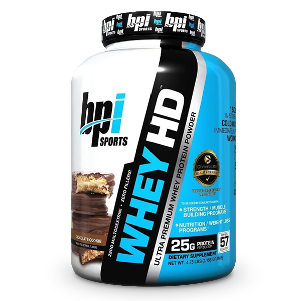 BPI Sports Whey HD™ 4.5Lbs - LiveFit.Asia