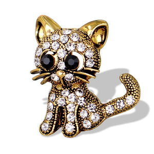 Cute Cat Brooch