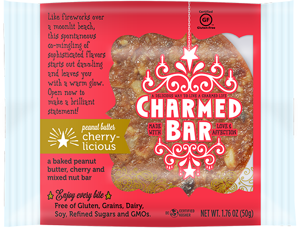 CharmedBar Peanut Butter Cherry-licious Package