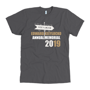 Edward Keeylocko Unisex  Annual Memorial 2019 - T-shirt