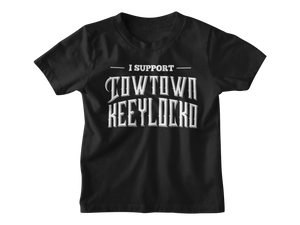 JB Black Cowtown Kids Supporter Tee