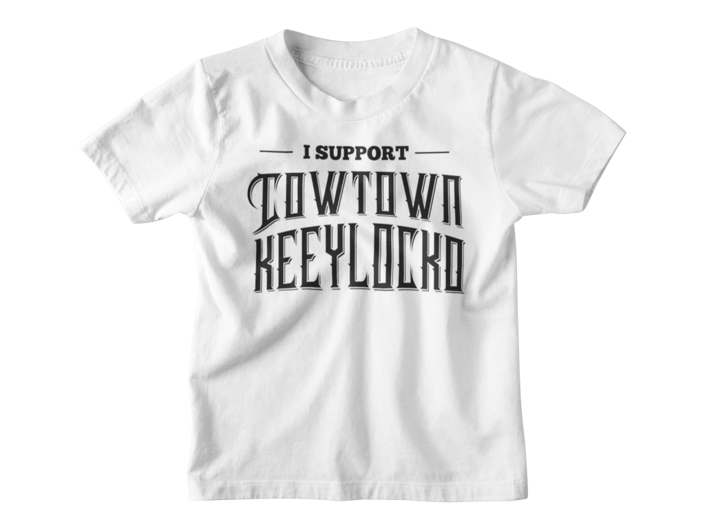 JB White Cowtown Kids Supporter Tee