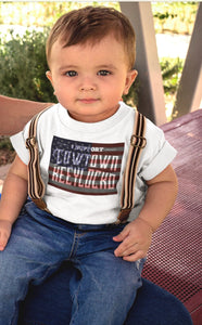 JB Cowtown Toddlers American Tee