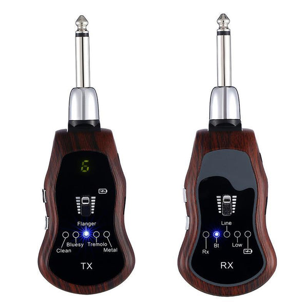 WirelessEffector™️ - UHF Guitar Wireless System & Effector + Bluetooth Headphone Amp