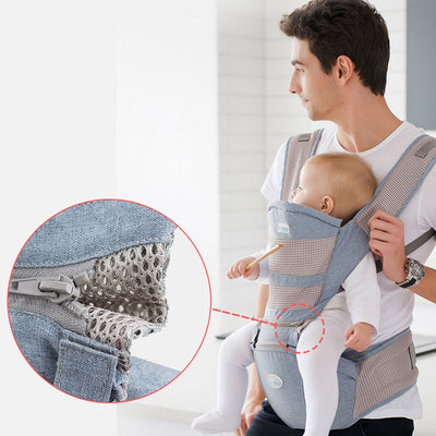 Comfortable Baby Carrier - Keeps Your Baby Safe and Close To You!