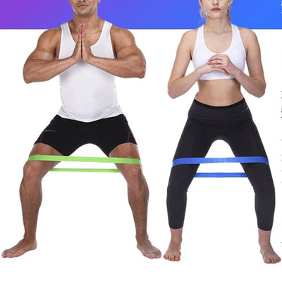 Resistance Rubber Bands for Fitness and Yoga Indoor and Outdoor