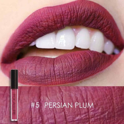 Long Lasting Waterproof Lip Gloss Matte Nude Liquid Lipstick -So Kissable!