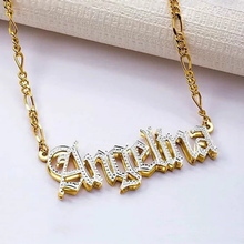 Load image into Gallery viewer, Double Plated Name Necklace
