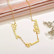 Load image into Gallery viewer, Family Name Necklace