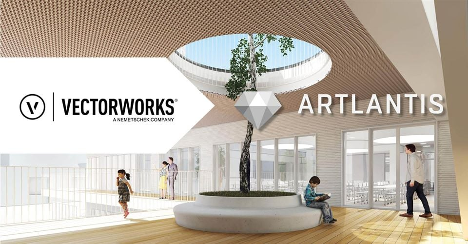 The Vectorworks 2021 plug-in for Artlantis 2021 is here!