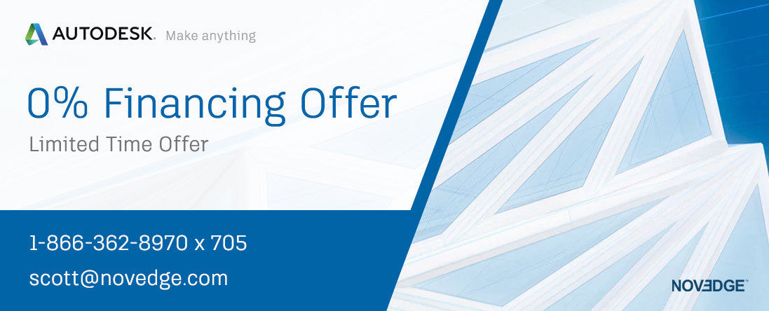 Autodesk 0% Financing Offer | 3-year Subscriptions Only