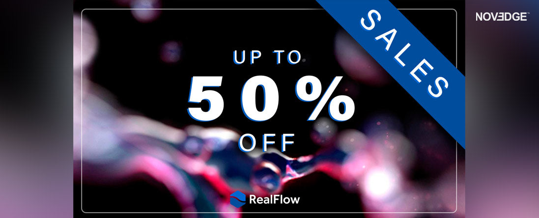 RealFlow Promo 50% Off
