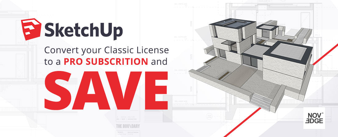 SketchUp Pro Subscription | Trade In Promo