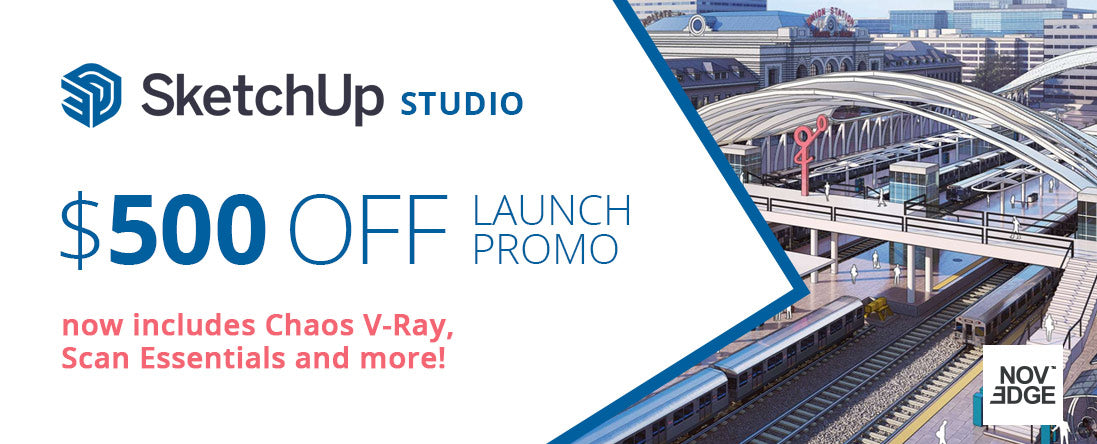 SketchUp Studio Launch Promo