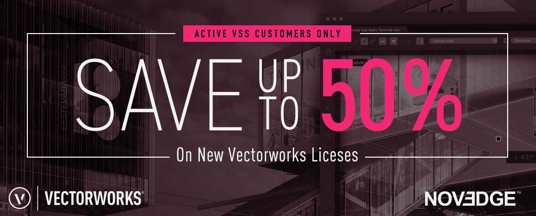 Vectorworks Offer: Buy More Save More