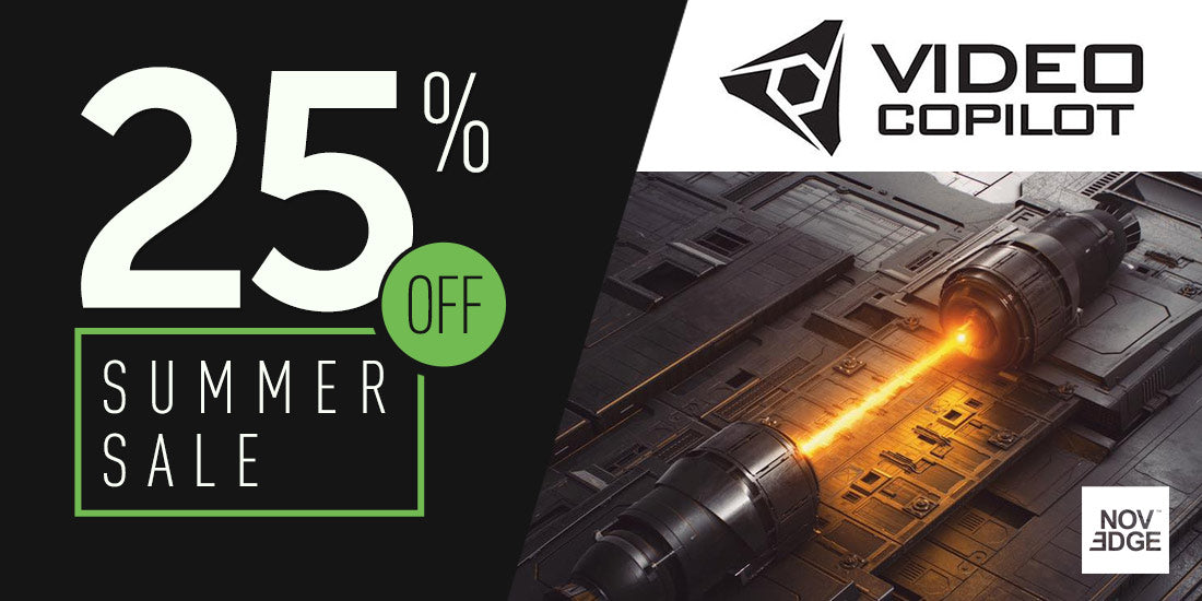 Video Copilot | 25% Off Sale
