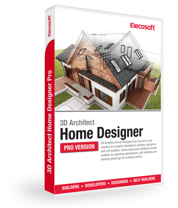 3D Architect Home Designer Pro-Elecosoft-NOVEDGE