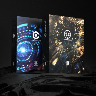 INSYDIUM X-Particles and Cycles 4D Bundle-INSYDIUM-NOVEDGE