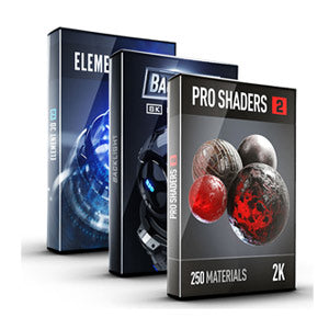 Video Copilot 3D Light Bundle (Element 3D + Pro Shaders 2 + BackLight)-Video Copilot-NOVEDGE